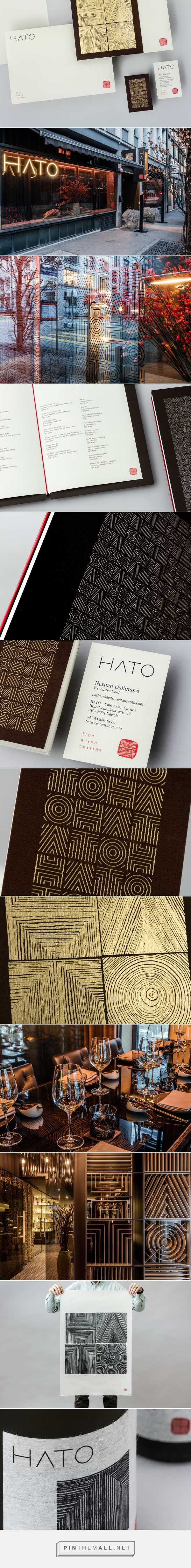 New Brand Identity for Hato by Allink — BP&O... - a grouped images picture - Pin Them All