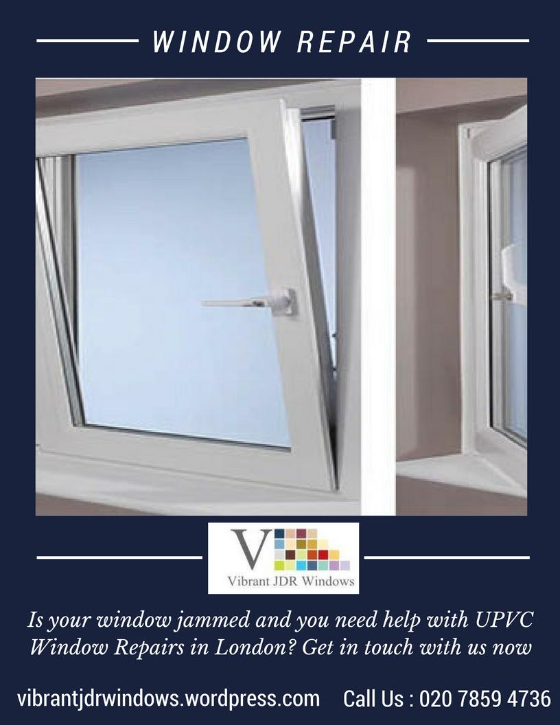 Maintenance of plastic windows. Service and repair