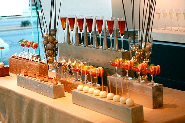 Stylish cocktail party ideas for the modern entertainer stylish modern and - Decoration snack moderne ...