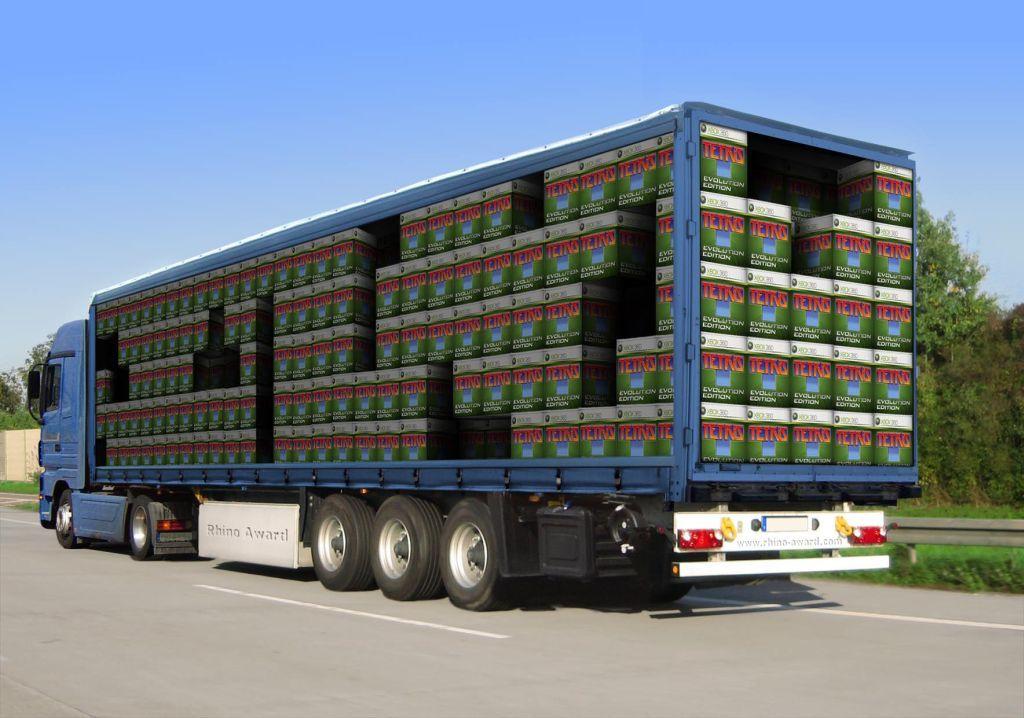 Semi Truck Photoshopped Freightcenter Photoshop Marketing