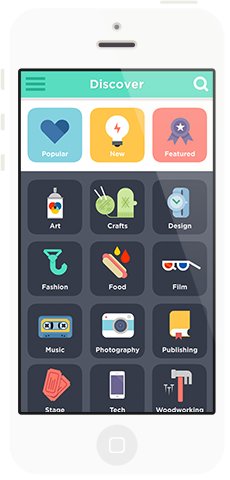 colorful but simple icons