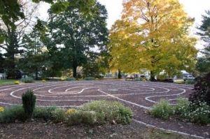 Labyrinth Walk: Full Moon Labyrinth Walk -- Michener Art Museum