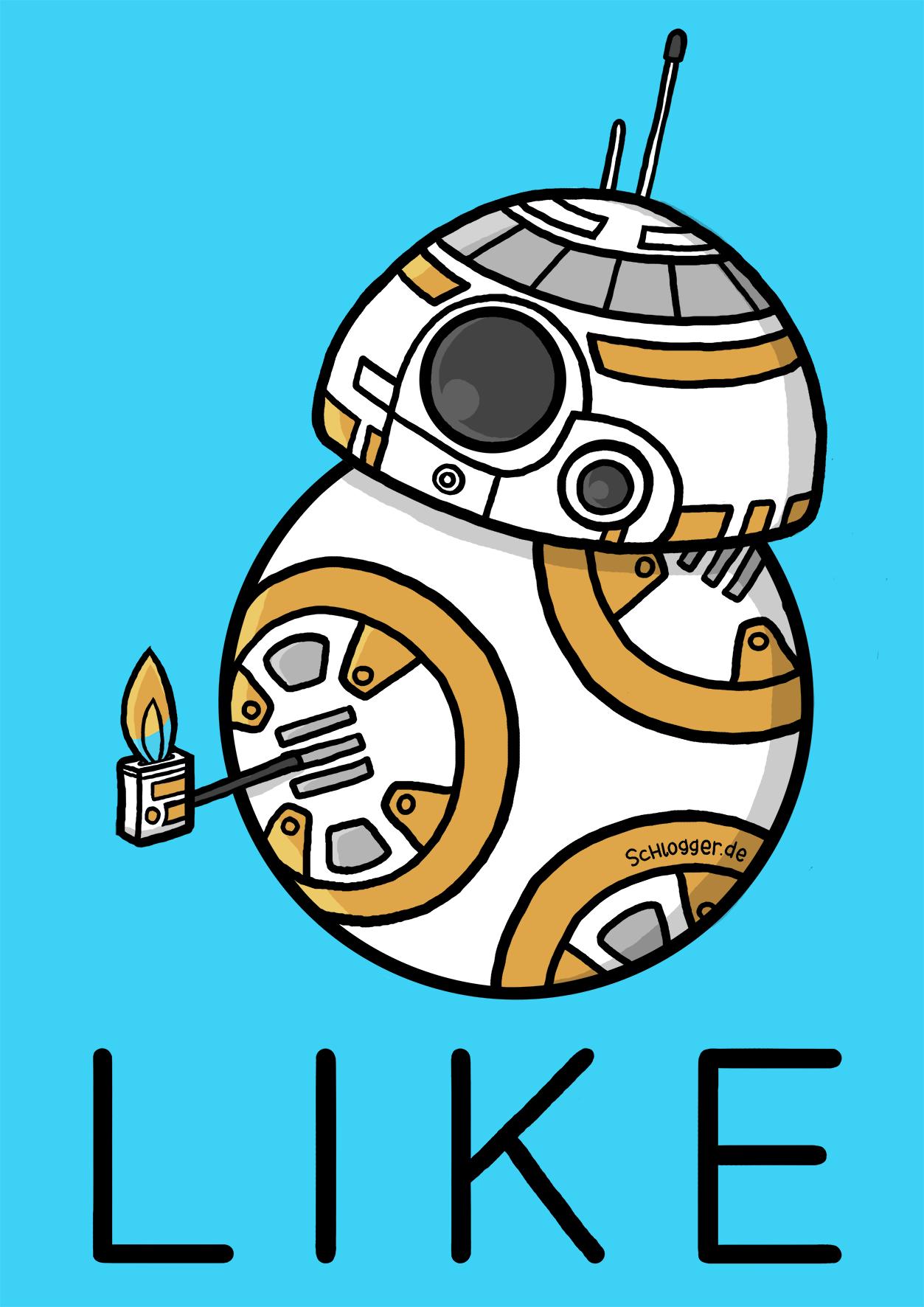 Mooi Kleurplaten Star Wars Bb 8