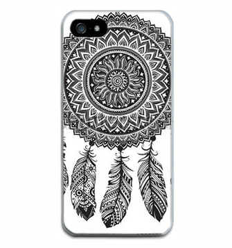 Black and White Dreamcatcher iphone cover