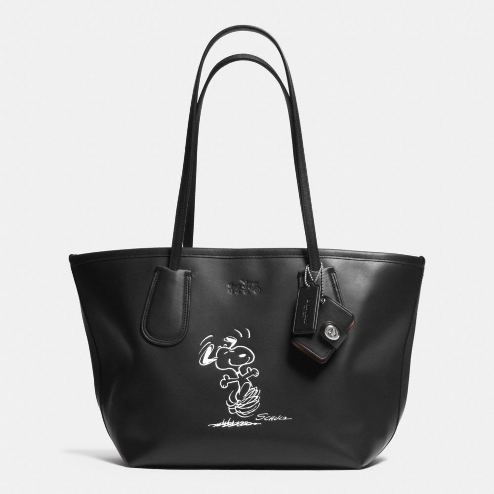 81fcd4487875 The Coach X Peanuts Coach Taxi Tote 24 In Leather from Coach - I would love  this bag
