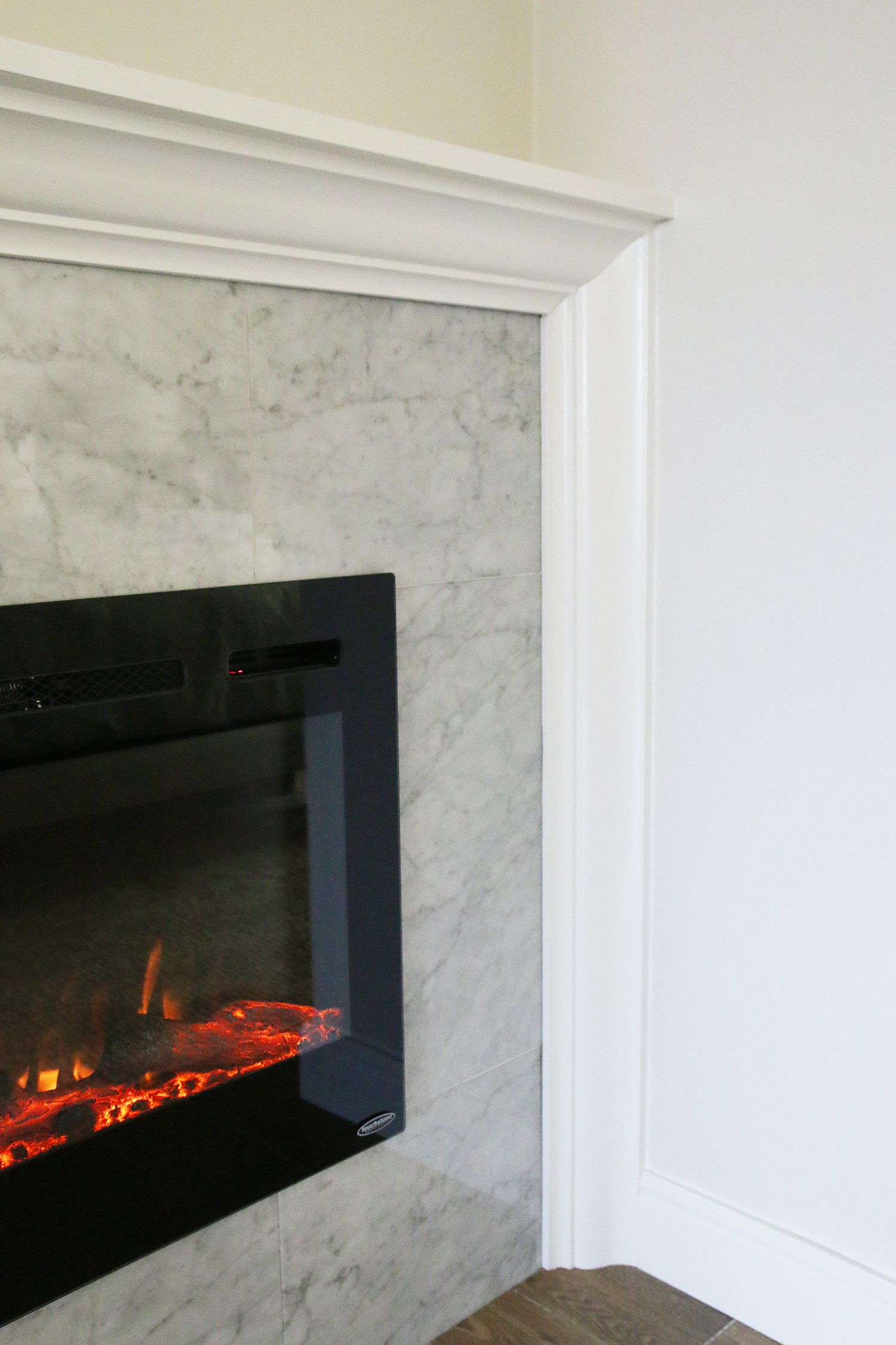 How To Diy A Built In Electric Fireplace Built In Electric Fireplace Electric Fireplace Fireplace