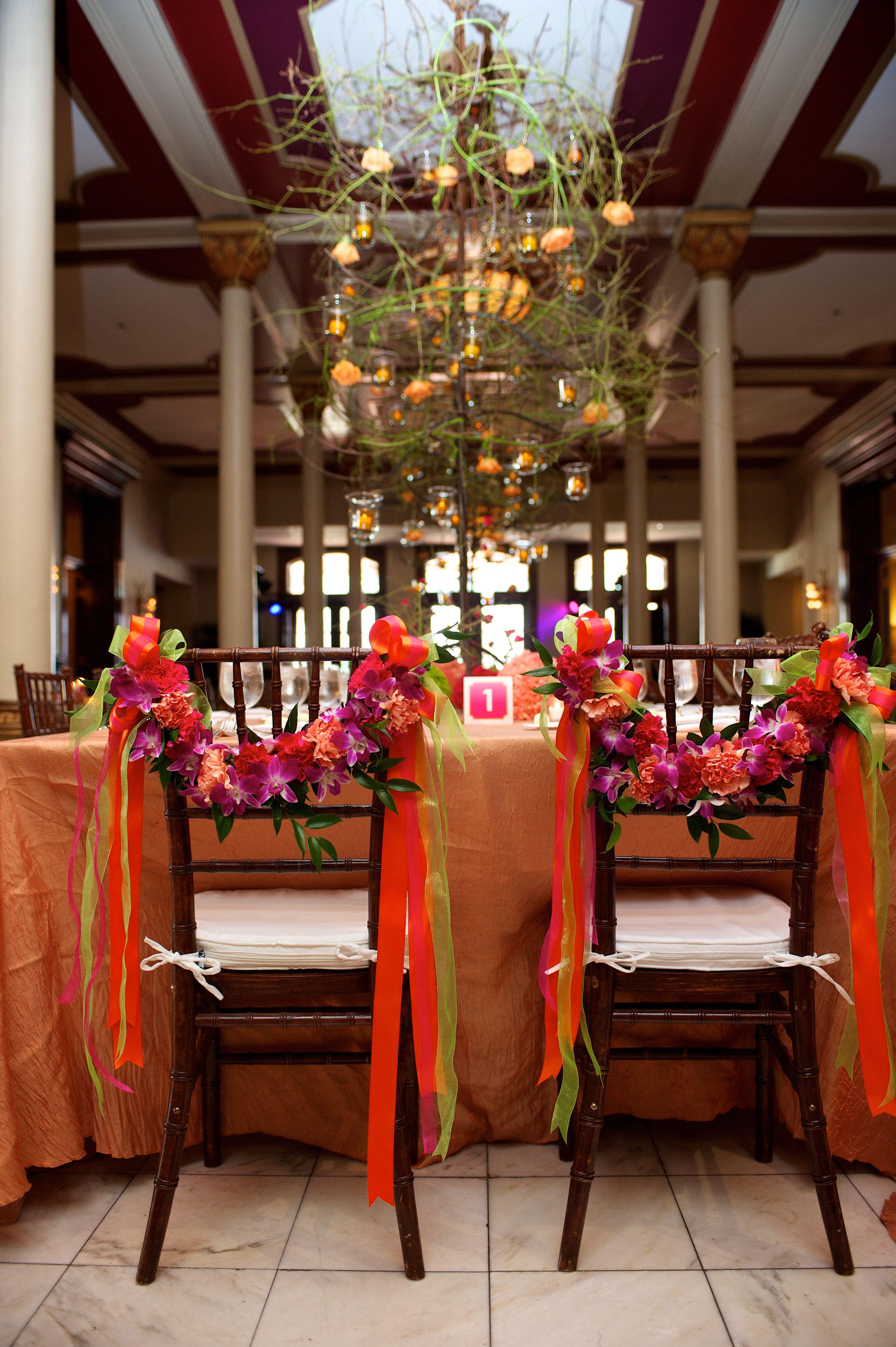 I loveeee chair ties gorgeous wedding at Driskill Hotel