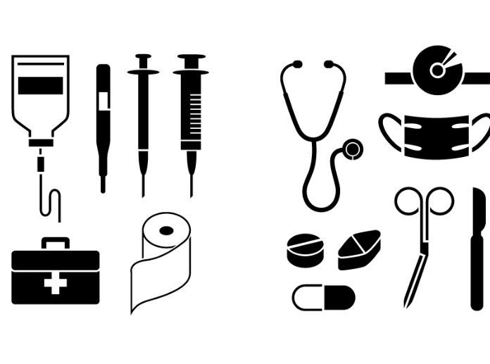 Black Medical Icons Vector | Silhouette Cameo | Pinterest ...