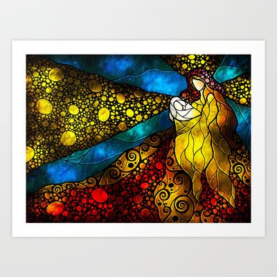 What child is this art print