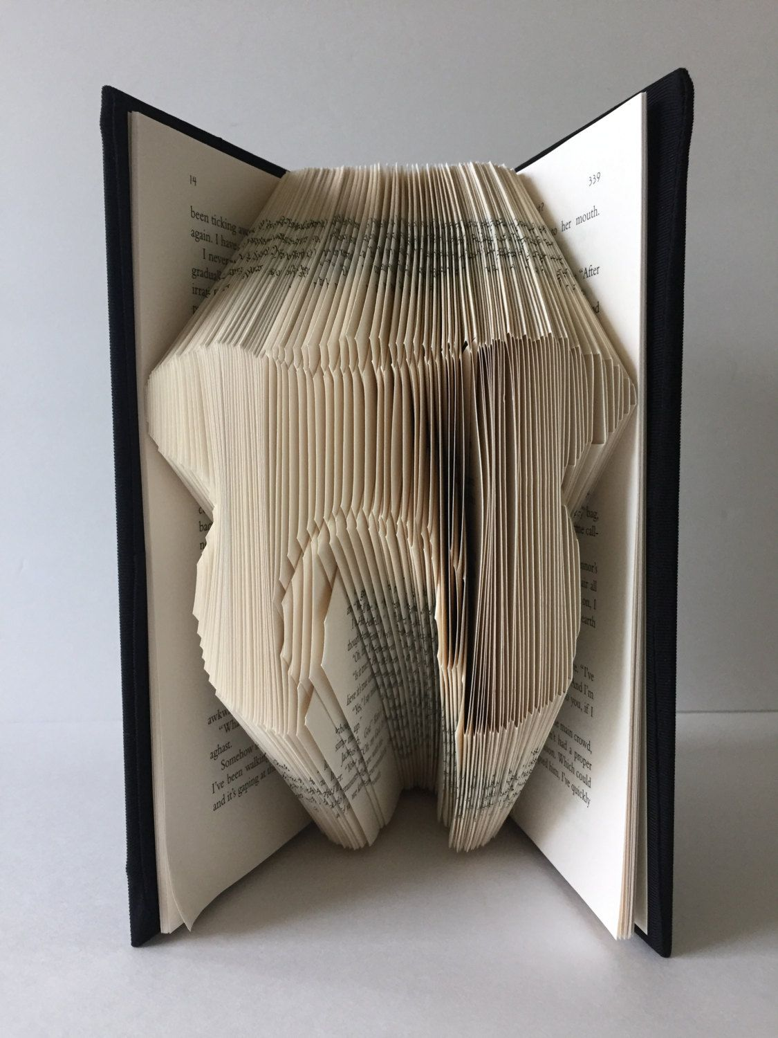 Tooth Book Fold Tooth Sculpture Tooth Book Art