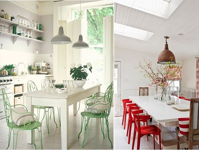 colorful kitchen table cabinet stain colors chairs are in it would seem house pinterest