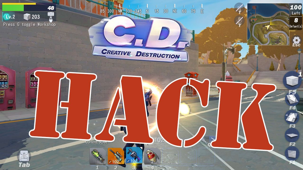 Hey guys ! are you looking for Creative Destruction Hack