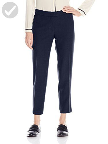 Anne Klein Women S Stretch Twill Pants Night 10 All About Women
