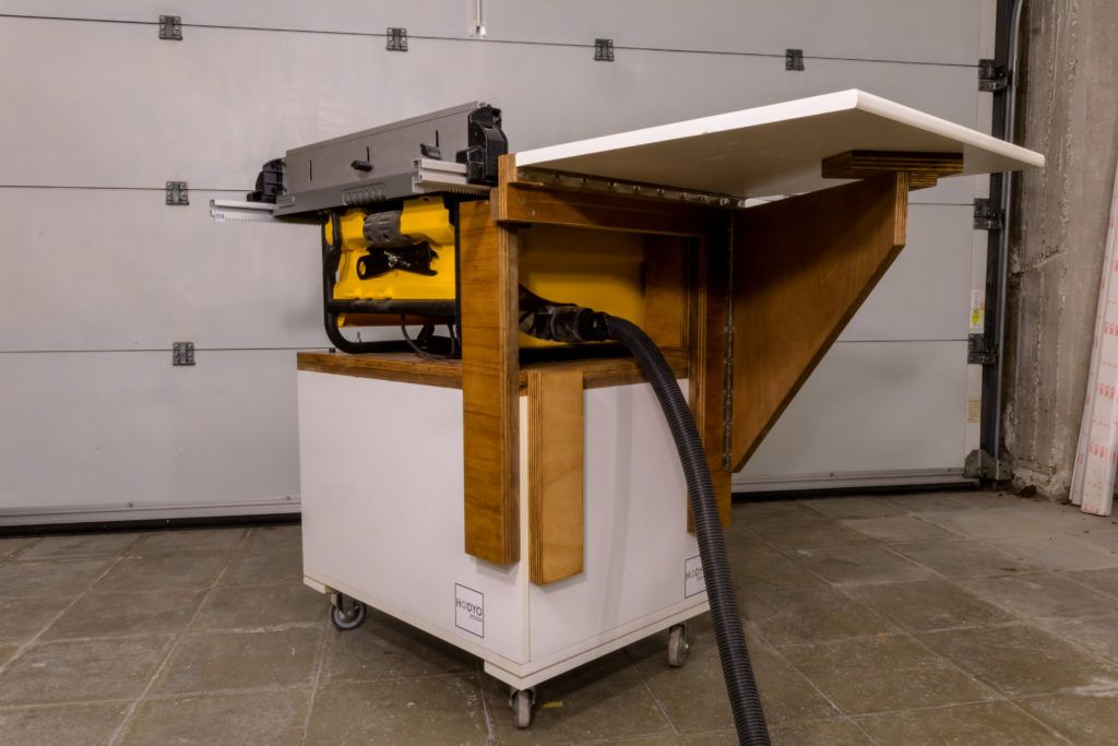 Mobile Table Saw Stand for my DeWalt DW745 in 2020