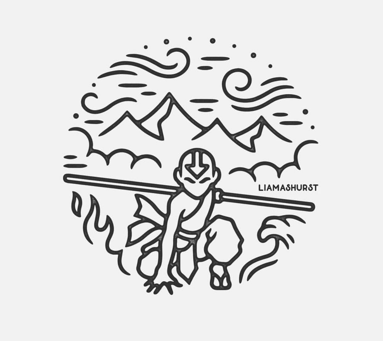 Avatar the last air bender tattoo