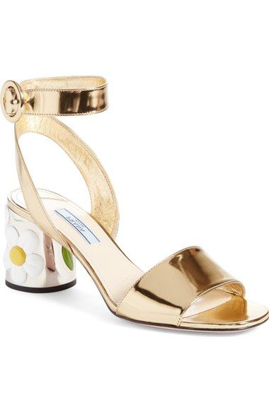 a91b5b98 Prada Daisy Heel Sandal (Women) available at #Nordstrom | My Style ...