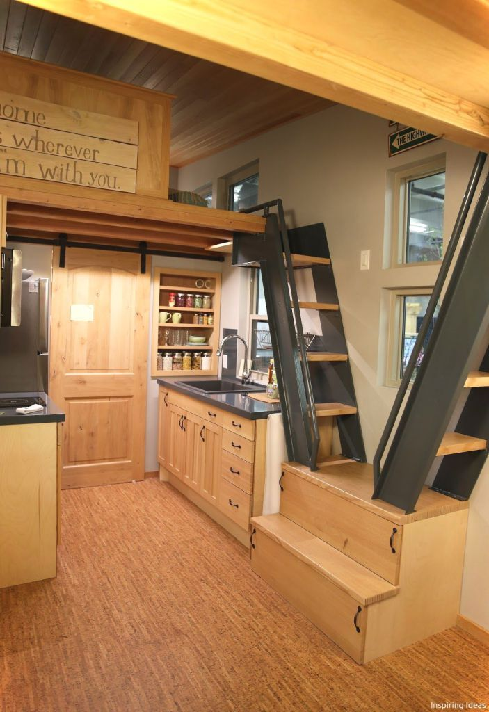16 Tiny House Interior Design Ideas With Images: Tiny House Furniture, Tiny House Kitchen, Tiny House Plans