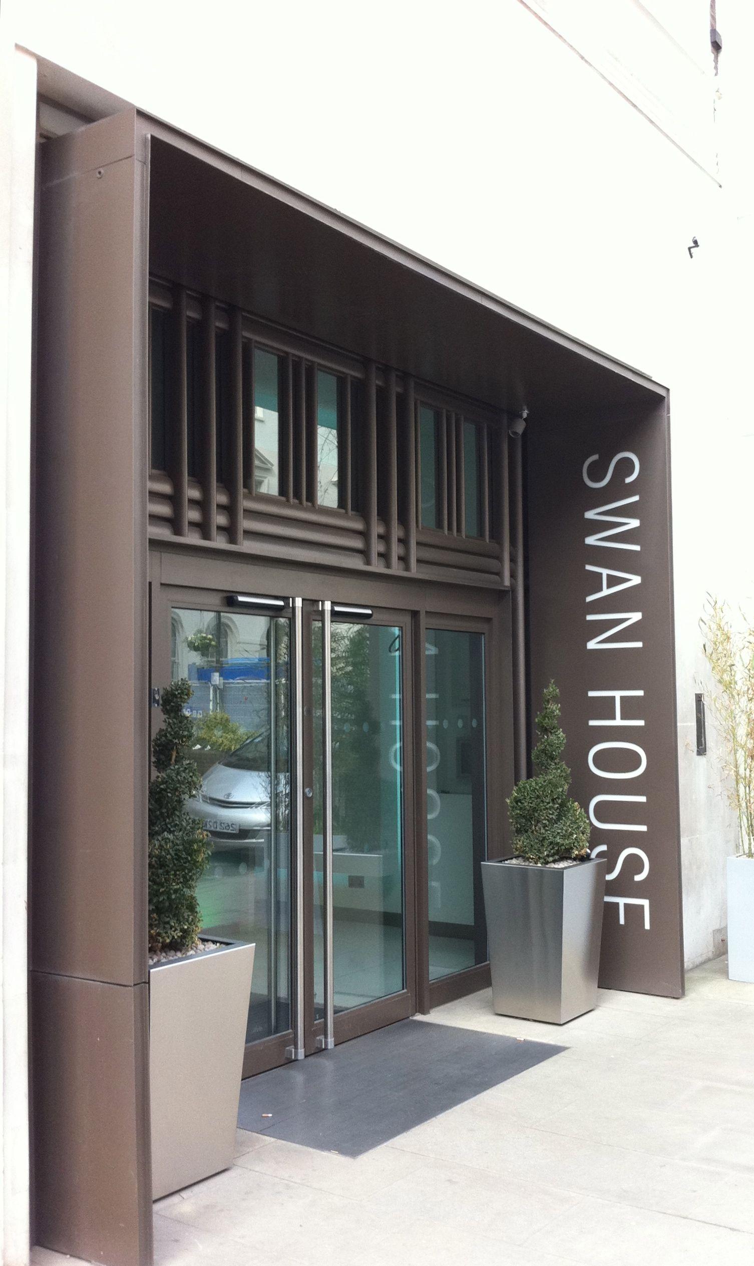 Shopfront in London.