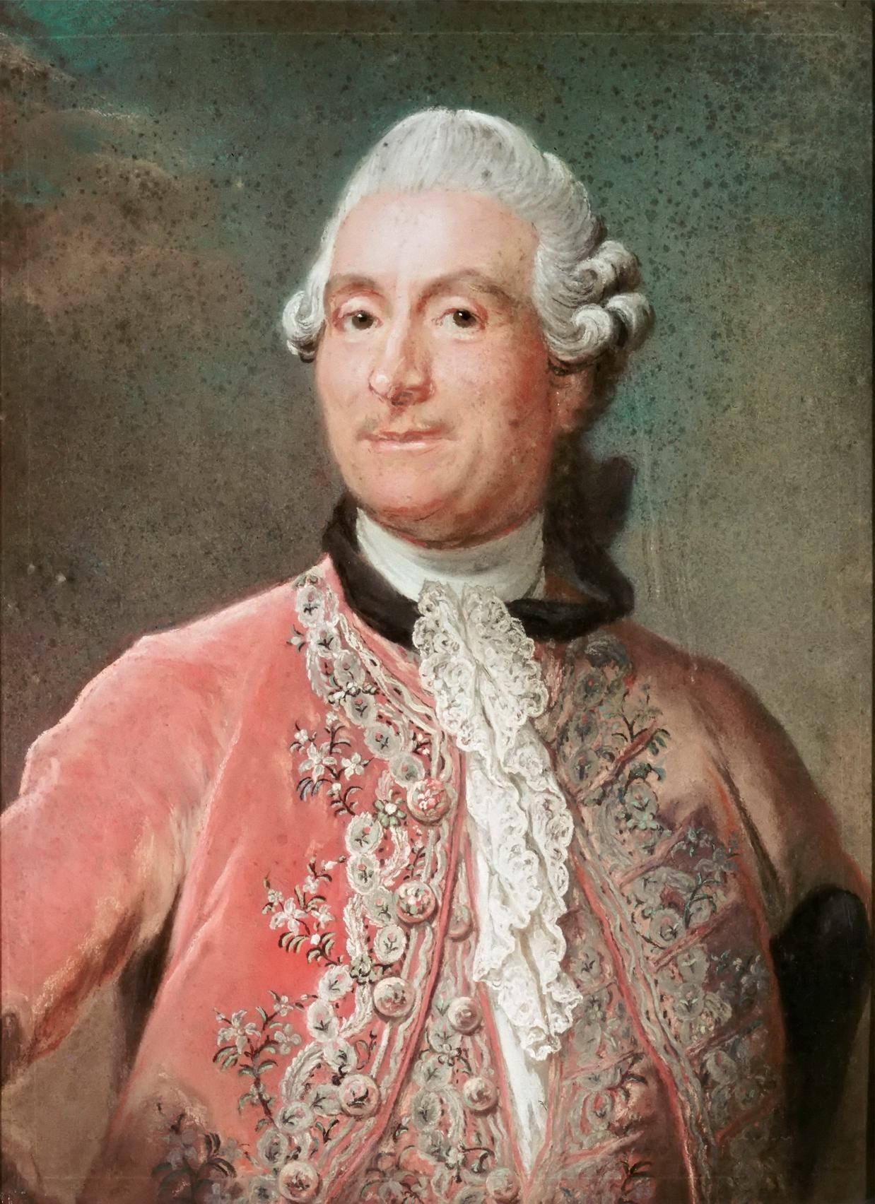 Billedresultat for 18th century portrait pink male