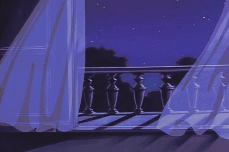 Image About Art In 90s Anime Aesthetic Purple Blue Tones By Ky Aesthetic Anime Dark Purple Aesthetic Moving Backgrounds