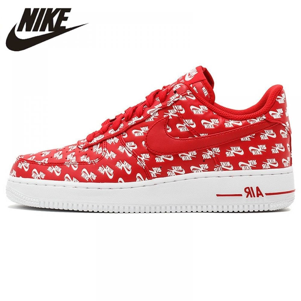 Retener auditoría almacenamiento  Nike Air Force 1 AF1 Logo Men's Air Force One Skateboard Sneakers, Original  Comfort Shoes in Skateboarding for Sports & Entertainment | Compras, Cosas  para comprar