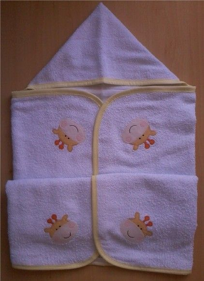 Toalha de banho forrada com capuz capuz toalhas de - Felpa porta bebe ...