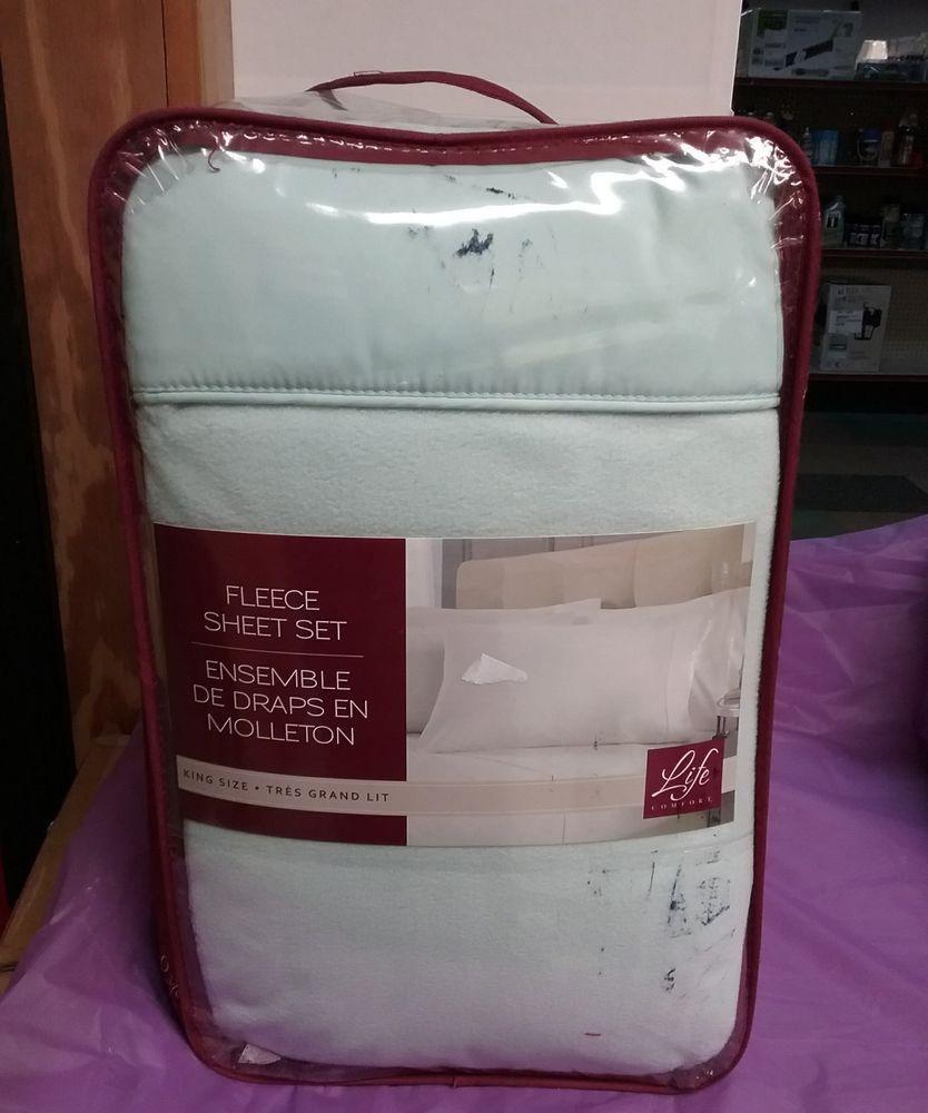 Fleece Sheet Set By Life Comfort King Size Lifecomfort Buy These
