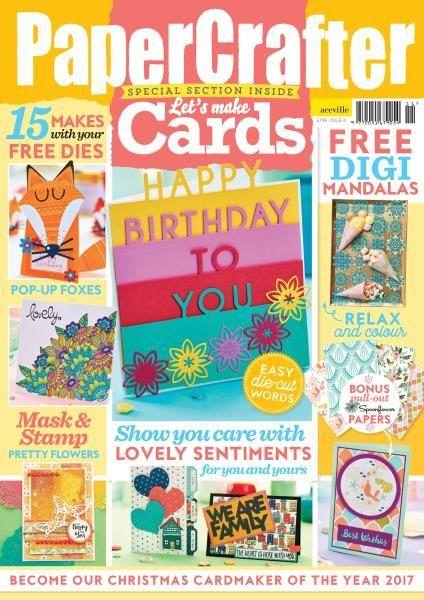 Craft Magazines 2017 Pdf Download Free Paper Crafts Magazine Crafts Magazine
