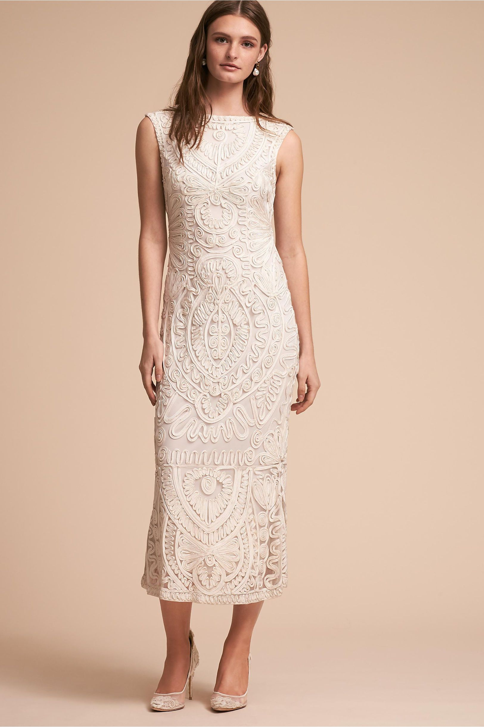 Bhldn nevado dress ivory in occasion dresses bhldn white dresses