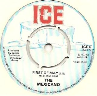 MAGICO ESTILO REGGAE: MEXICANO - First of May (1977) 7Inch  ALBUM