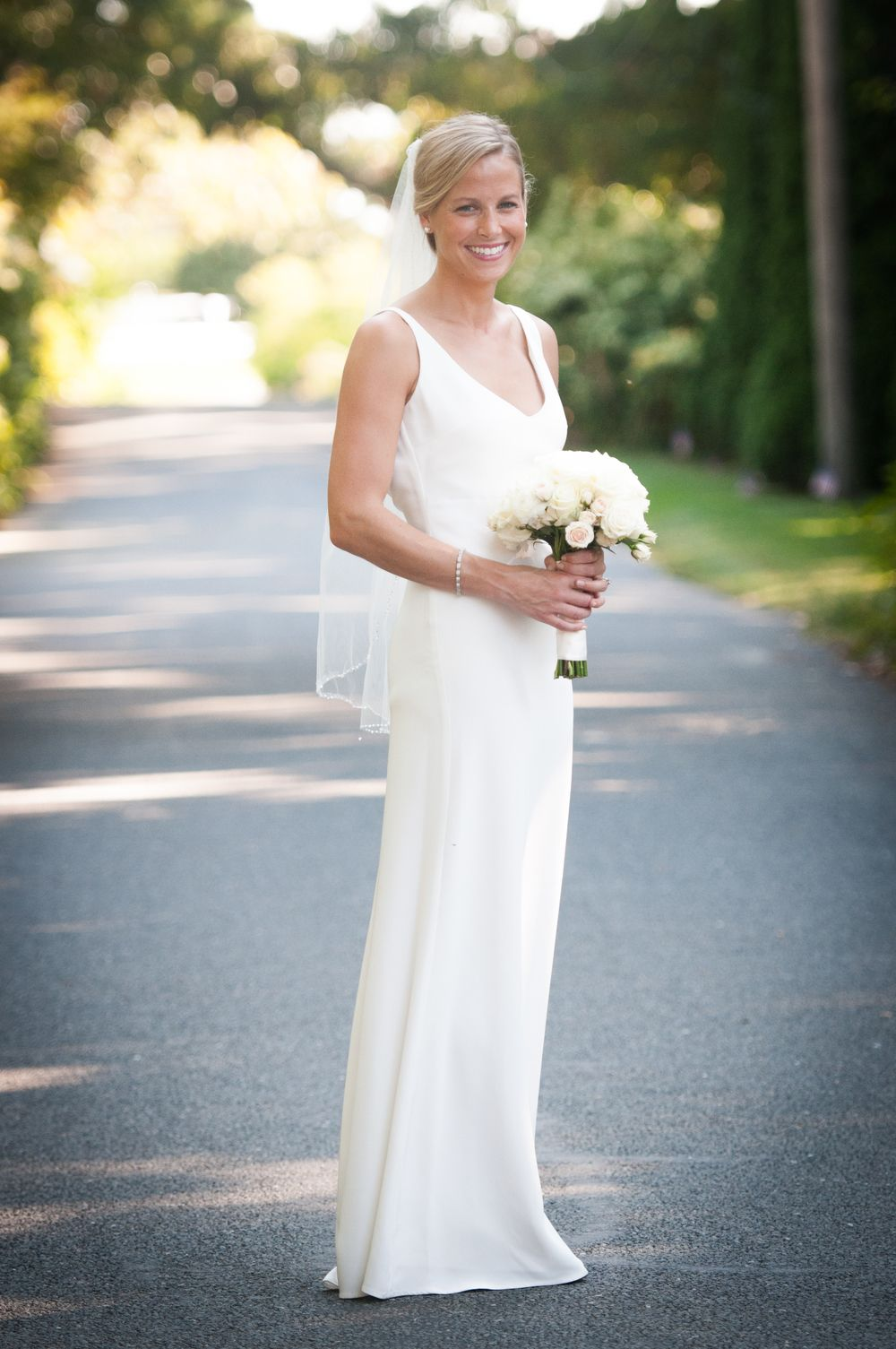 Kate Was Married On Cape Cod And Wanted A Simple Yet Elegant