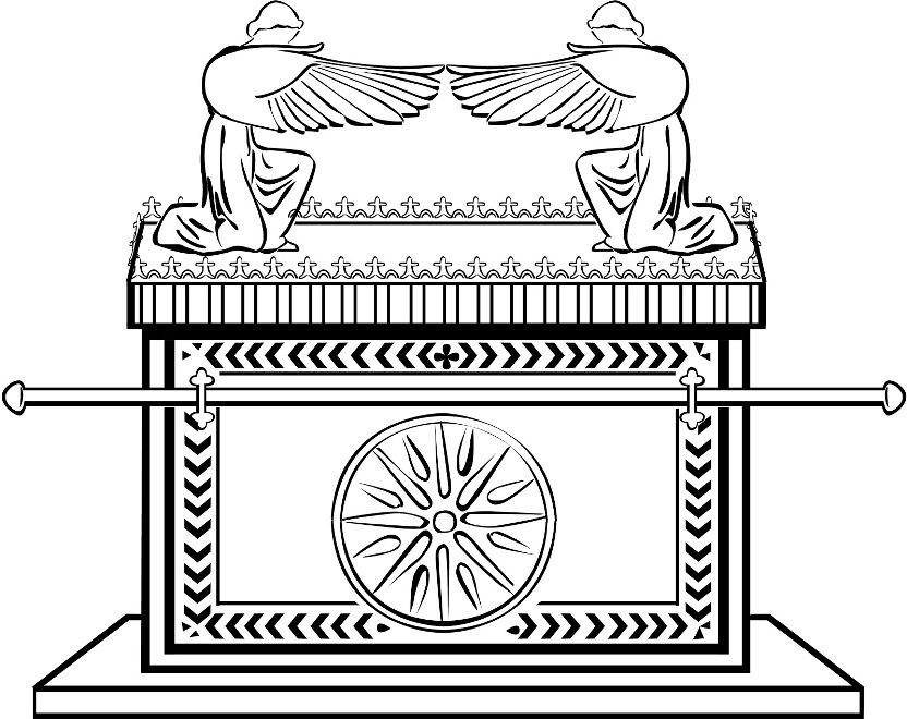 Ark of the covenant coloring page avg yahoo search for Ark coloring page