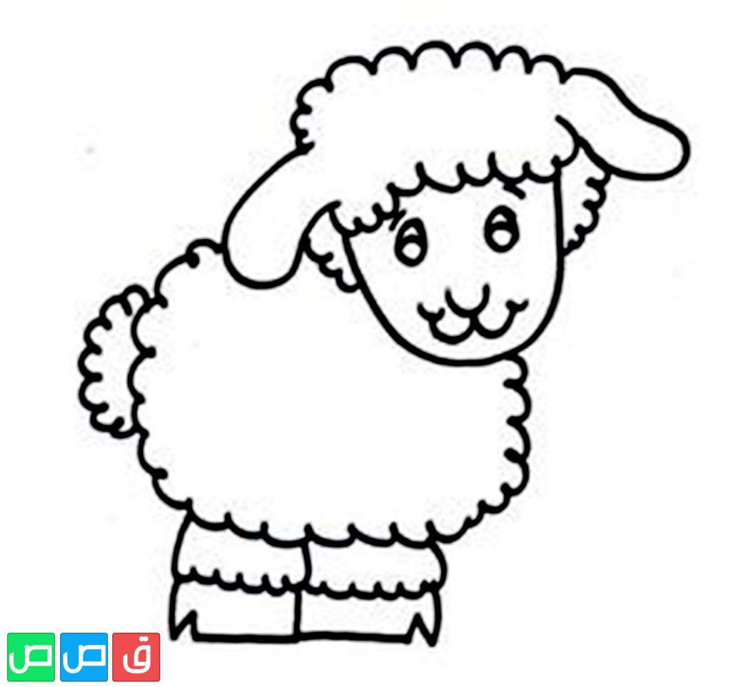 رسم خروف للتلوين In 2020 Coloring Pages Online Coloring Lamb