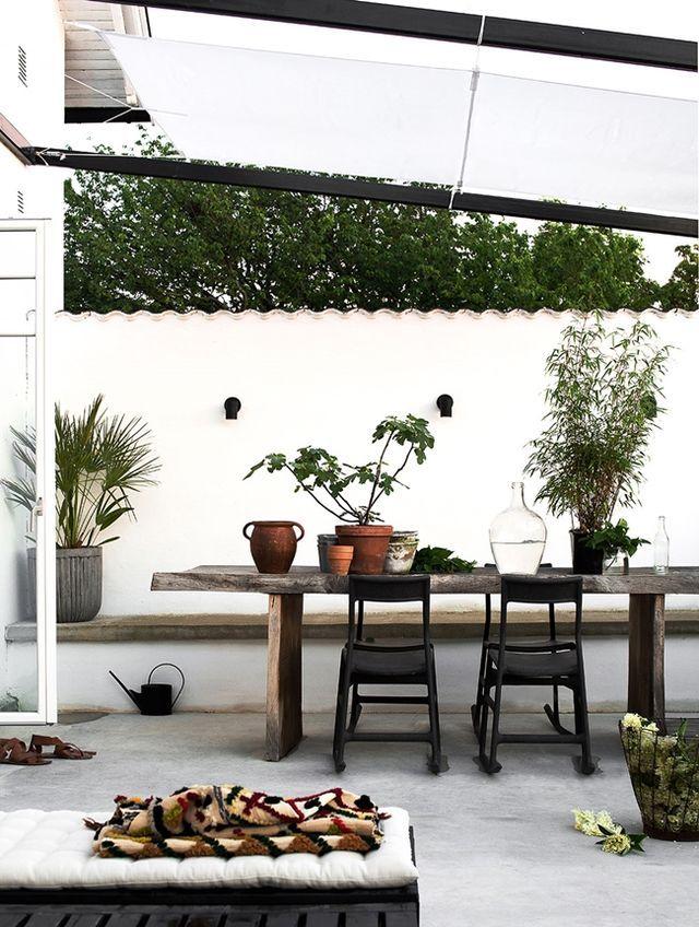 Wunderbar Outdoor Space · Terrasse IdeenGarten TerrasseMediterrane ...