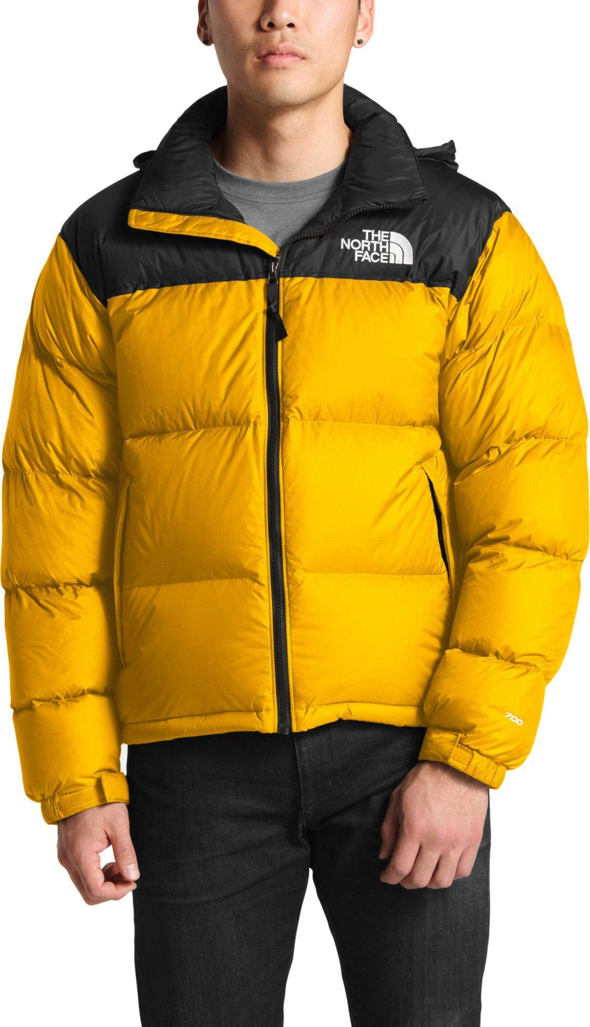 The North Face Men S 1996 Retro Nuptse Jacket Size Medium Tnf Yellow North Face Mens North Face Nuptse North Face Jacket