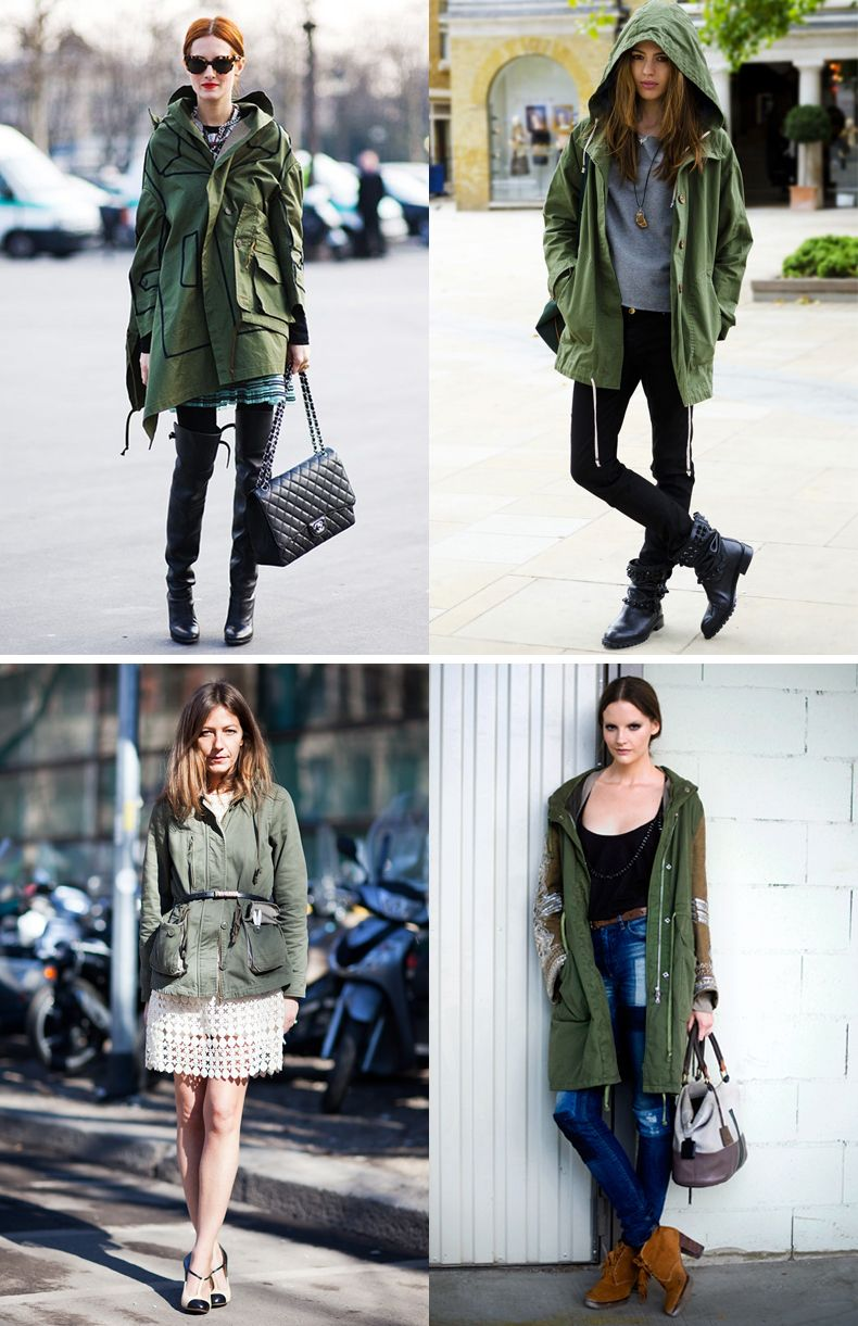 green-parka-street-style-collagevintage-1 | Fashion Inspiration ...