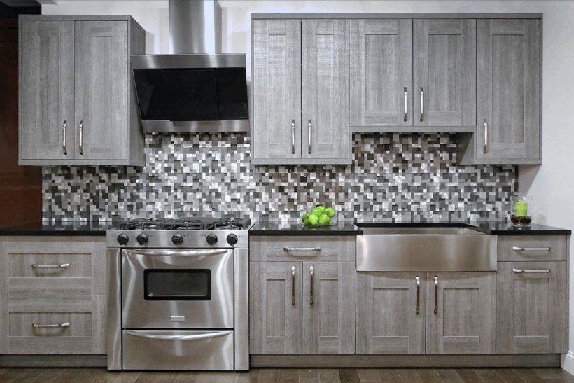 Best Geometric Black And White Monochrome Backsplash Tile Grey 640 x 480