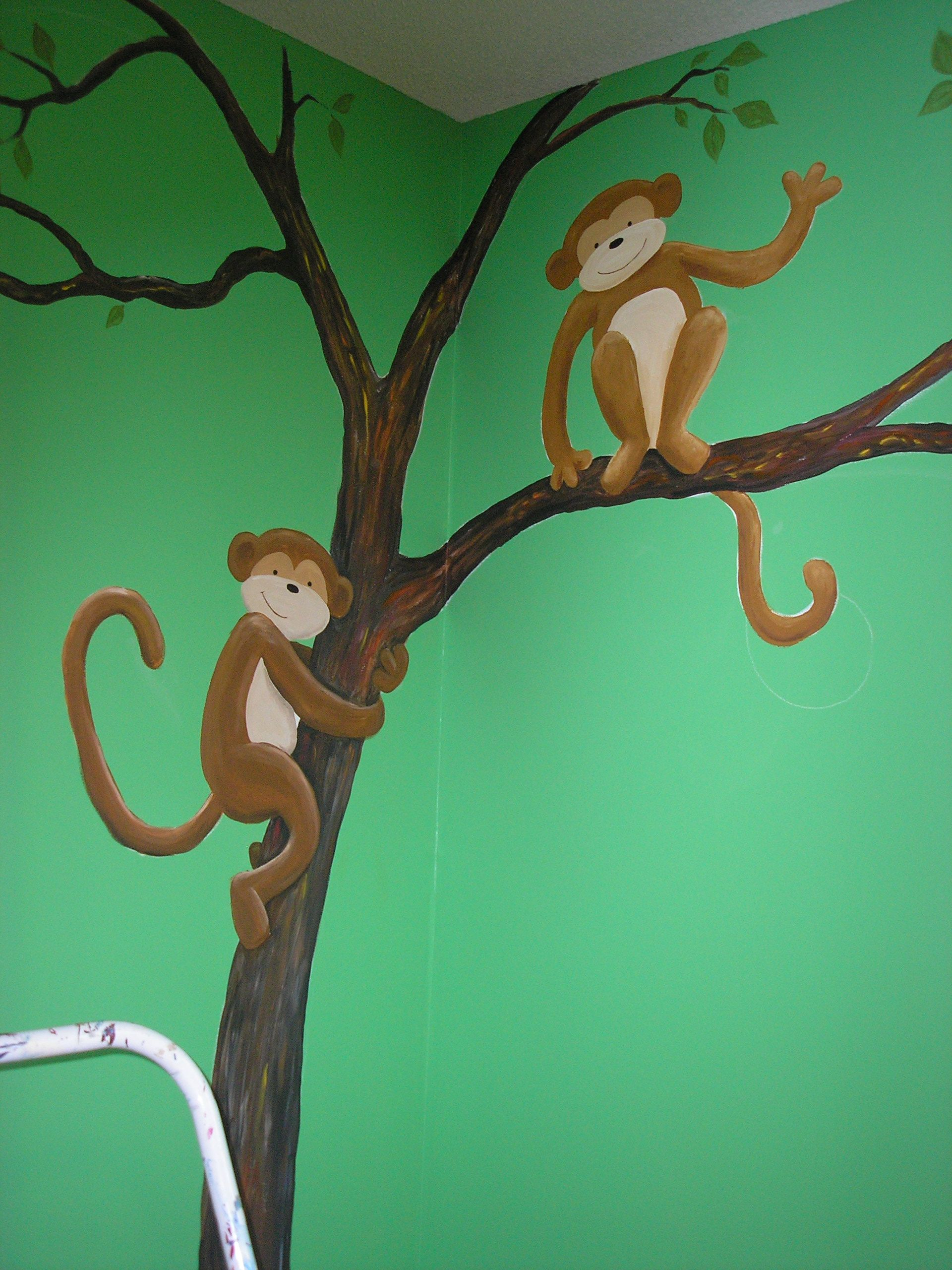 Wall colors for preschool rooms - I Should Paint Murals On The Daycare Room Walls