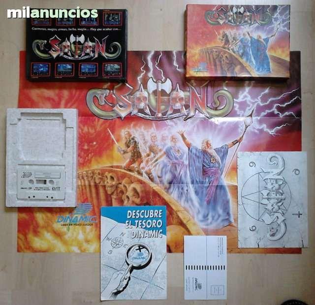 Juego Satan Para Amstrad Cpc 464 Completo Funcionando Y En Buen
