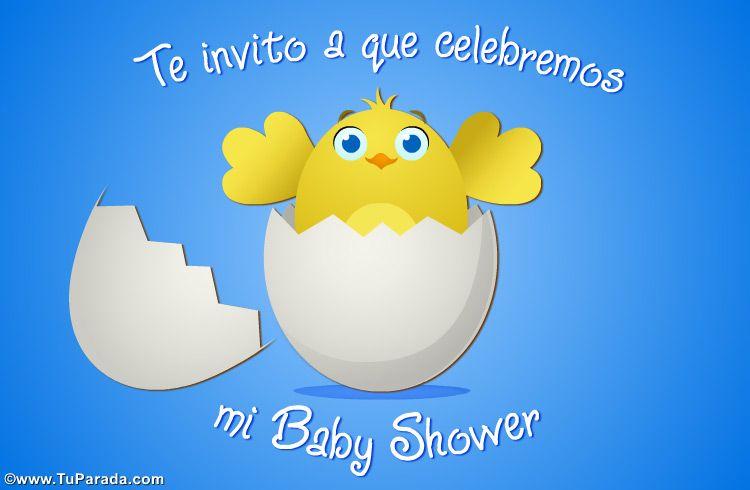 Ecard De Baby Shower Para Niño Baby Shower Ver Tarjetas Postales Virtuales Tuparada Com Baby Shower Tarjetas De Bebé Tarjetas