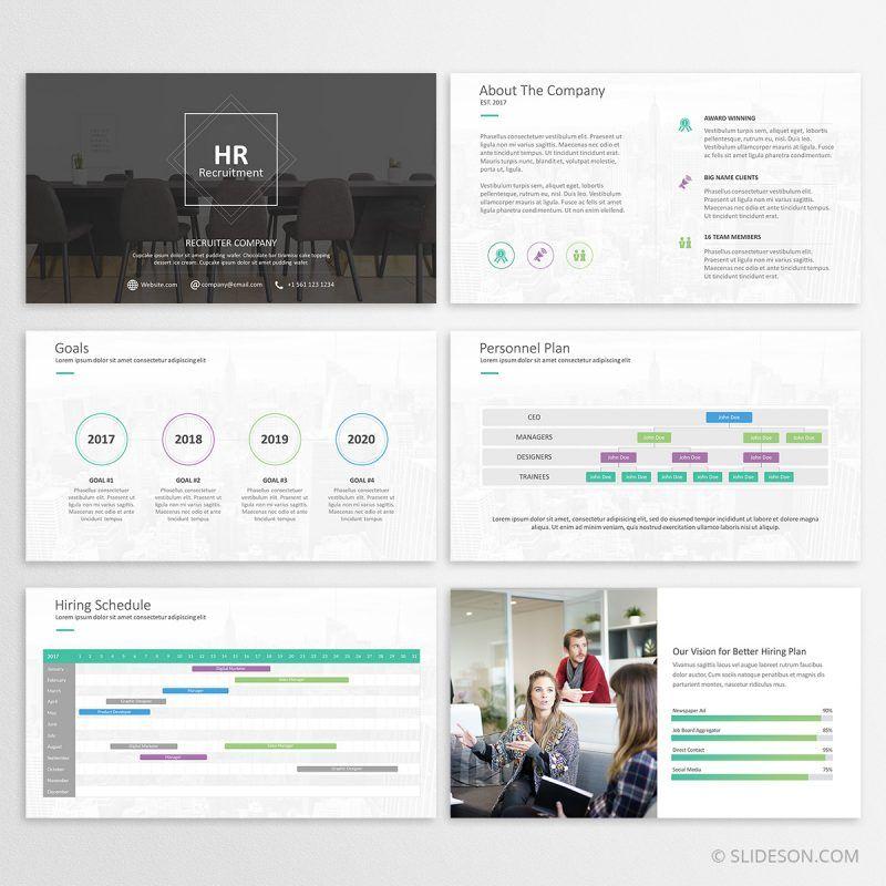 hr plan - powerpoint presentation template | powerpoint templates, Powerpoint templates