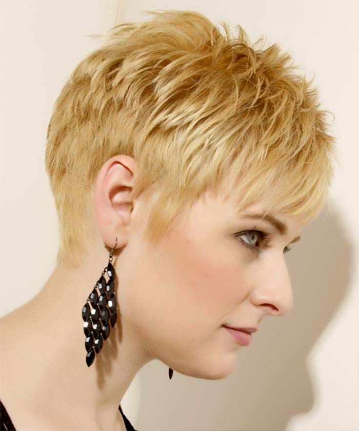 Trendy Short Textured Hairstyles For Women Razored Haircuts Short Hair Styles Low Maintenance Short Haircut