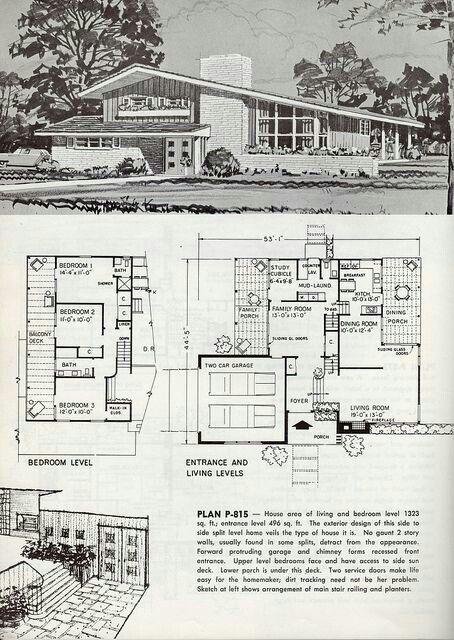 Brady Bunch House Floorplan