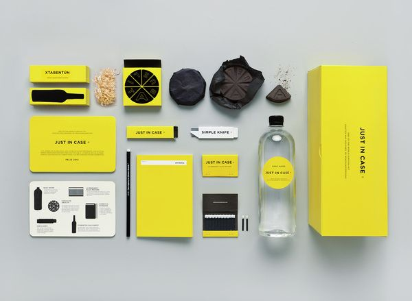 JUST IN CASE ® - End-of-the-world-survival kit - by MENOSUNOCEROUNO , via Behance