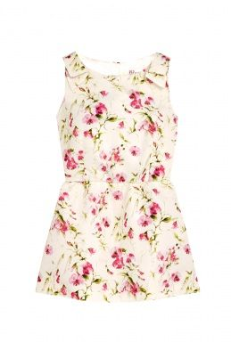Sweetpea Floral Tunic Top by Red Valentino