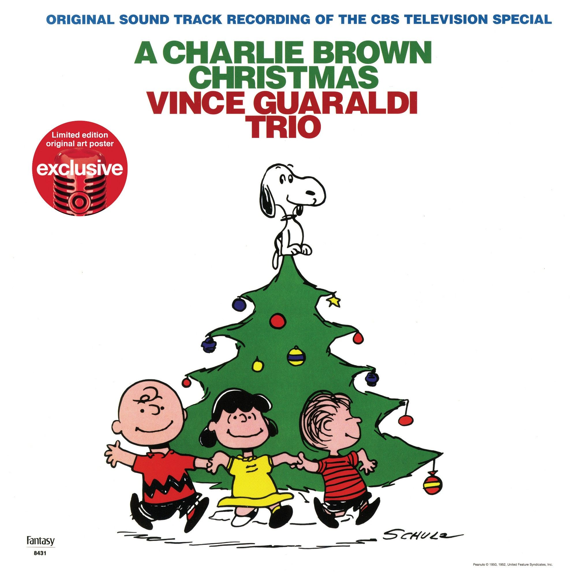 Vince Guaraldi Trio Charlie Brown Christmas (Target Exclusive ...