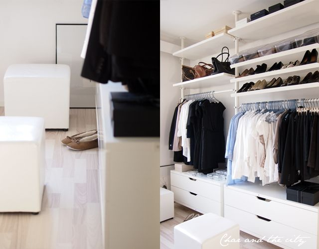 ikea stolmen vaates ilytys home pinterest open closets dressing room and master closet. Black Bedroom Furniture Sets. Home Design Ideas