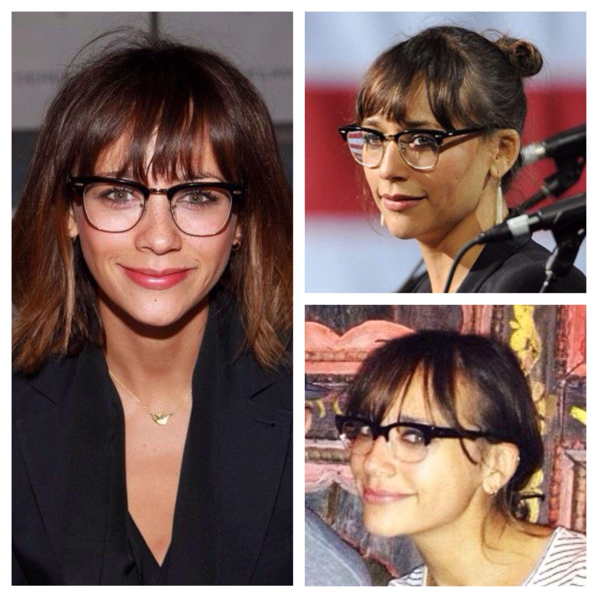 Love Rashida Jones  glasses - Ray Ban RX5154   Cute Glasses Frames ... db588fa615