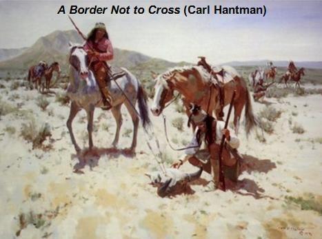 A border not to cross. Carl Hantman
