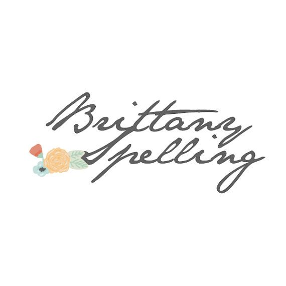 Premade Floral Photography // Boutique Logo  @Brittany Horton Cunningham inspiration?